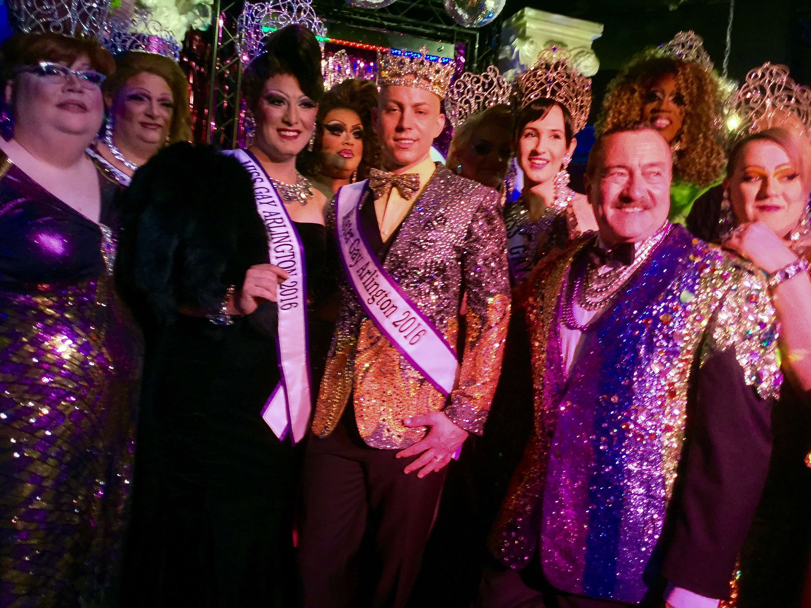 Mister and Miss Gay Arlington 2016